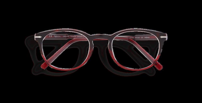 Gafas graduadas hombre CHAMPAGNOLE rojo/carey - vista de frente
