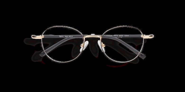 Óculos graduados senhora NELIA preto /dourado preto/dourado