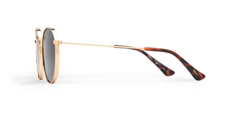 Óculos de sol MAURI GD POLARIZED dourado - Vista lateral