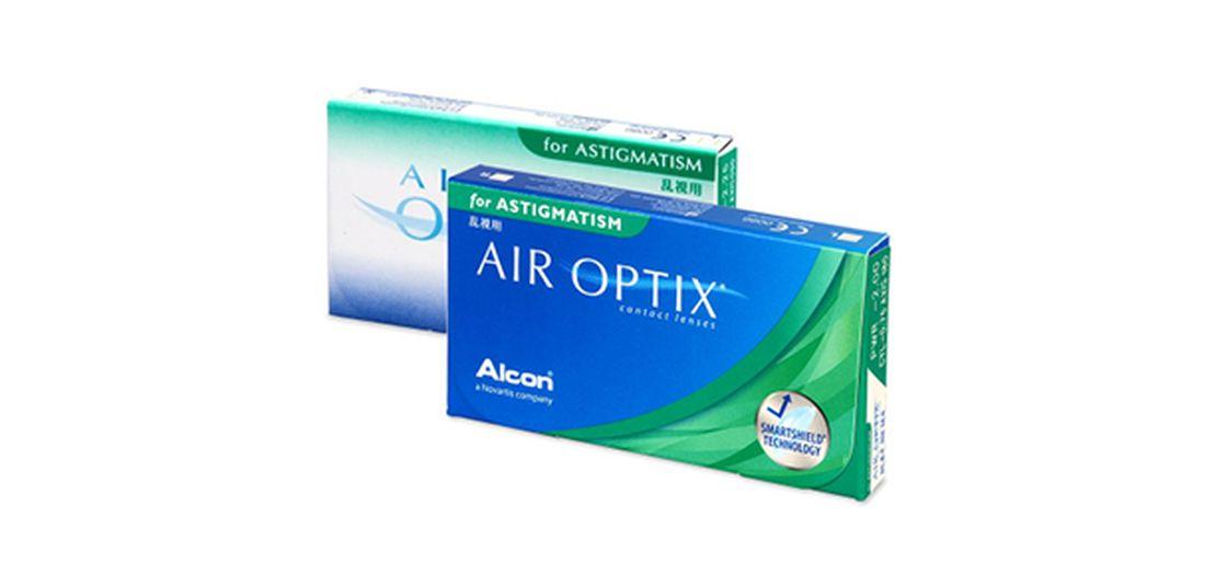 Lentes de contacto Air Optix for Astigmatism 3L