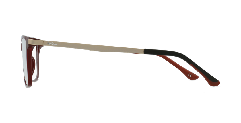 Óculos graduados senhora MAGIC 61 BLUEBLOCK - BLOQUEIO LUZ AZUL vermelho - Vista lateral