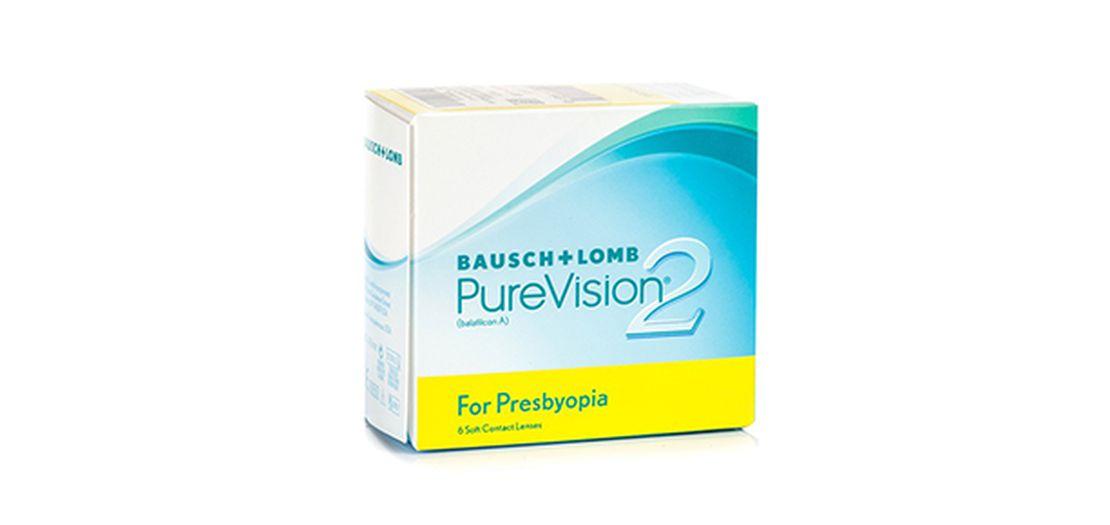 Lentilles de contact PureVision 2 HD for Presbyopia 6L