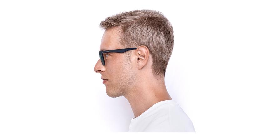 Óculos de sol homem CAGLIARI POLARIZED azul - Vista lateral