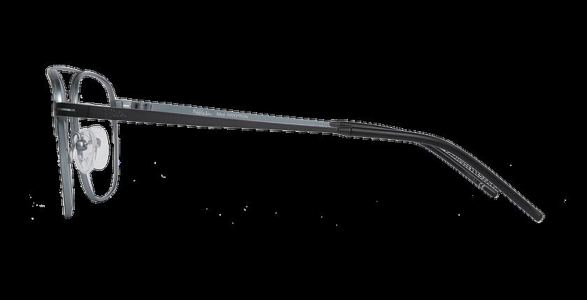 Lunettes de vue homme KRYPTON gris/argenté - Vue de côté