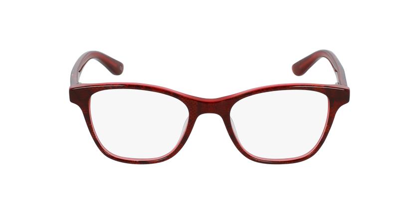 Óculos graduados criança Angele rd (Tchin-Tchin +1€) vermelho - Vista de frente