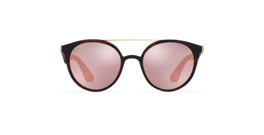 Óculos de sol senhora ANDRES POLARIZED tartaruga  - Vista de frente