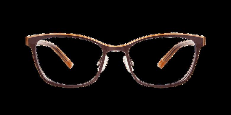 Óculos graduados senhora ALPHA 3 castanho