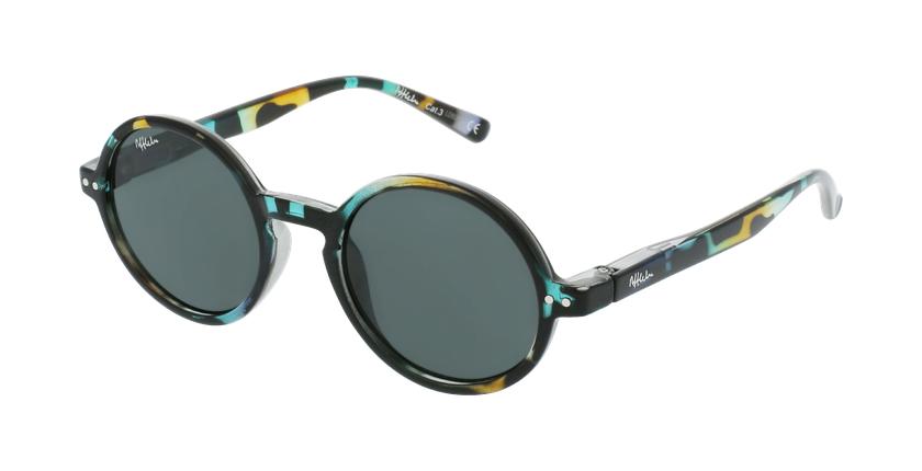 Óculos de sol criança COMO TOGR tartaruga/verde - vue de 3/4