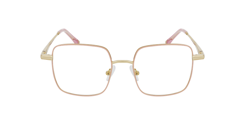 Óculos graduados senhora MAGIC 94 PK rosa/dourado - Vista de frente
