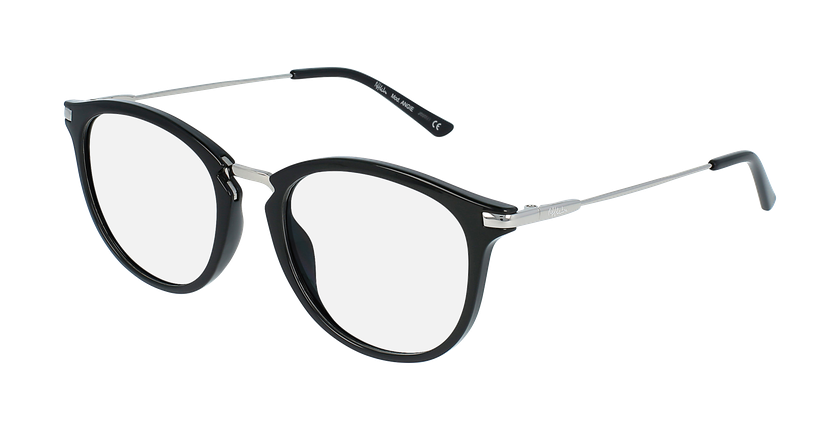Óculos graduados ANGIE BK (TCHIN-TCHIN +1€) preto - vue de 3/4