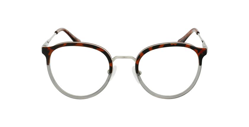 Óculos graduados INDIANA TO (TCHIN-TCHIN +1€) tartaruga /cinzento - Vista de frente