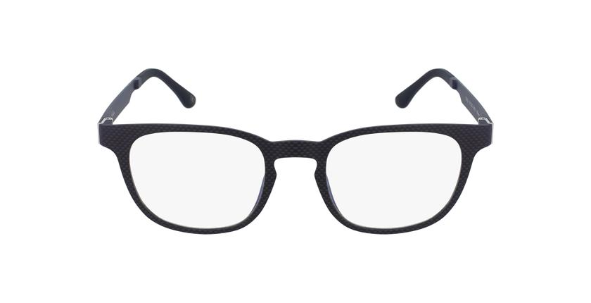 Óculos graduados homem MAGIC 33 BK BLUEBLOCK - BLOQUEIO LUZ AZUL preto - Vista de frente