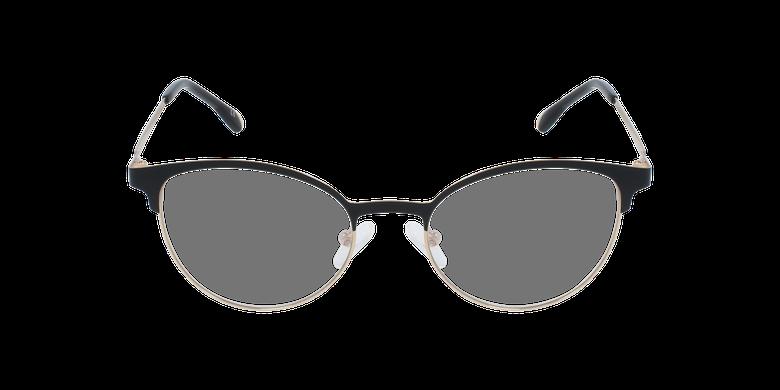 Óculos graduados senhora MAGIC 54 BLUEBLOCK - BLOQUEIO LUZ AZUL preto/dourado