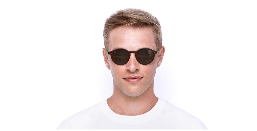 Óculos de sol LOIS RD vermelho/vermelho - Vista de frente