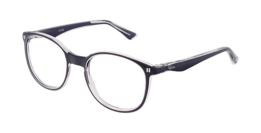 Óculos graduados criança REFORM TEENAGER (J5 PU) violeta - vue de 3/4