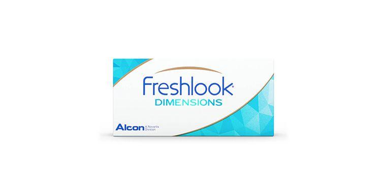 Lentilles de contact FreshLook Dimensions 2L (sans correction)