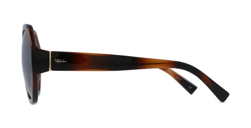 Óculos de sol senhora AURORA TO01 tartaruga  - Vista lateral