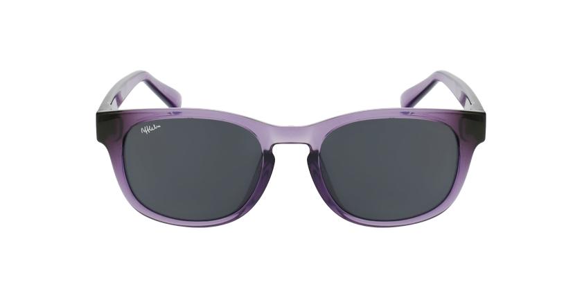 Óculos de sol criança POROMA PU violeta - Vista de frente