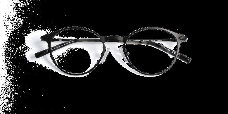 Óculos graduados homem LOM7240 preto