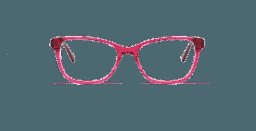 Óculos graduados senhora ONYX vermelho - Vista de frente