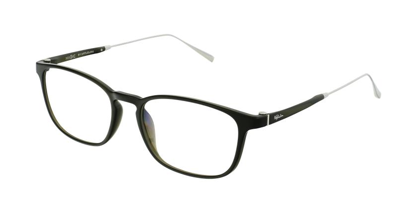 Óculos graduados homem MAGIC 68 GR verde/prateado - vue de 3/4