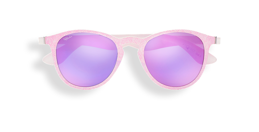 Óculos de sol senhora VARESE POLARIZED rosa - Vista de frente