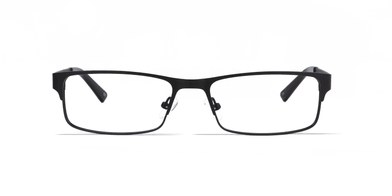 Óculos graduados homem HUGO BK (TCHIN-TCHIN +1€) preto