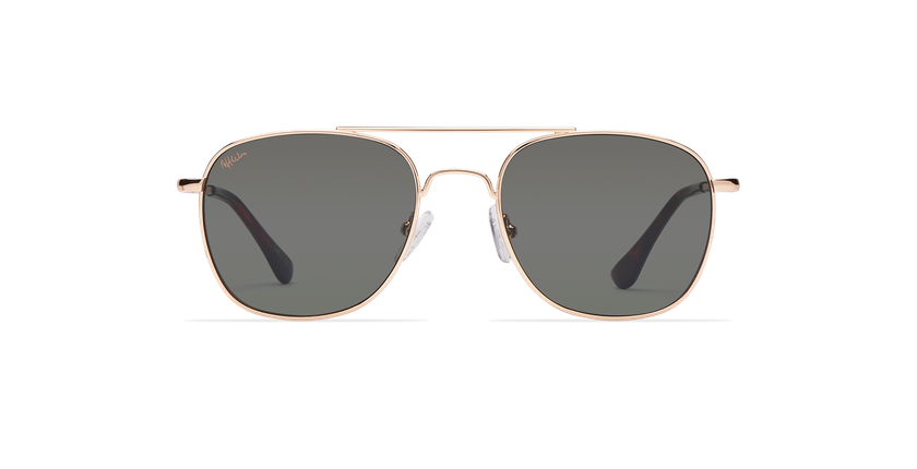 Gafas de sol niños LIPEO dorado - vista de frente