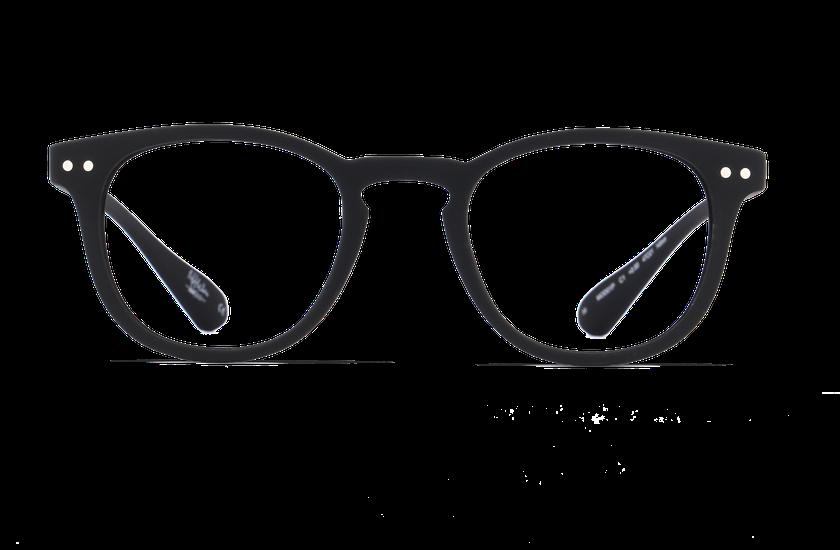 Lunettes de vue BLUE BLOCK MIXTE noir - vue de face