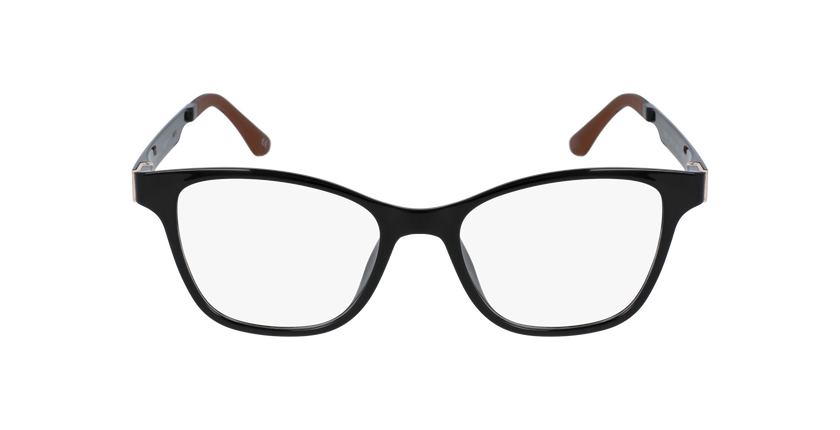 fcb8f1d28 Óculos graduados senhora MAGIC 17 preto/preto brilhante - Vista de frente  ...