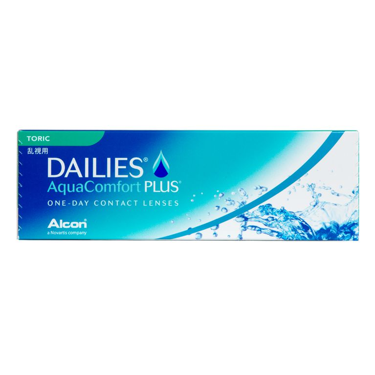 Lentilles de contact Dailies AquaComfort Plus Toric 30L