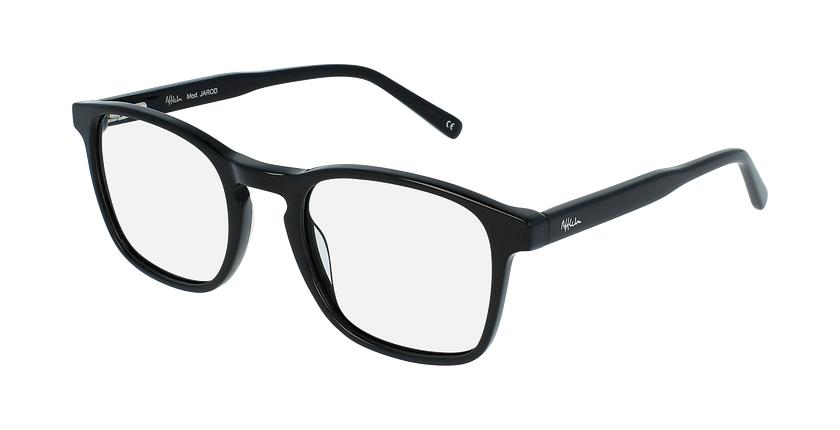 Óculos graduados homem jarod bk (tchin-Tchin +1€) preto - vue de 3/4
