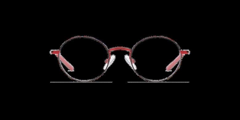 Lunettes de vue enfant LOIS rouge/noir