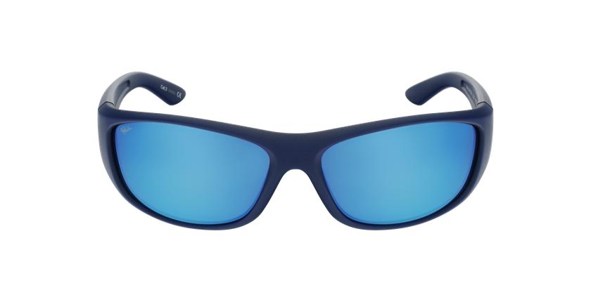 Lunettes de soleil ANTON bleu - Vue de face