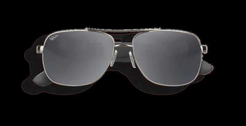 ... Gafas de sol hombre CRUZEIRO gris gris - vista de frente ... 3cbfbdb075bf
