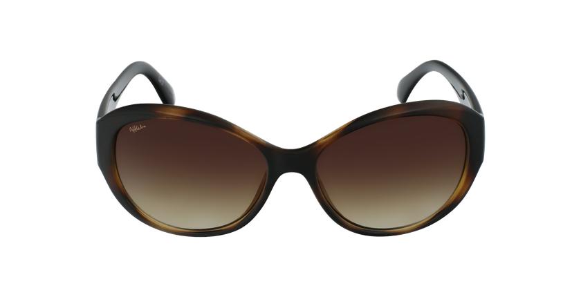 Óculos de sol senhora MARTINA TO tartaruga /preto - Vista de frente
