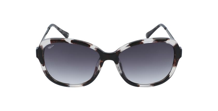 Óculos de sol senhora COSLADA BK tartaruga /preto - Vista de frente