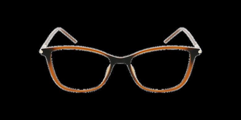 Lunettes de vue femme MAGIC 89 marronVue de face
