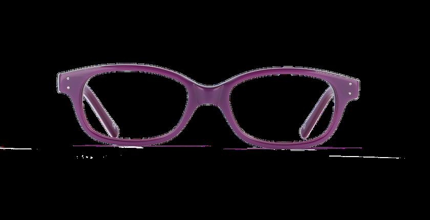 Lunettes de vue enfant KATY violet - Vue de face