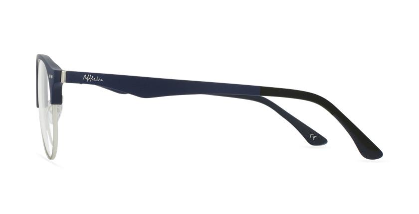 Óculos graduados homem MAGIC 91 BL ECO FRIENDLY azul/prateado - Vista lateral
