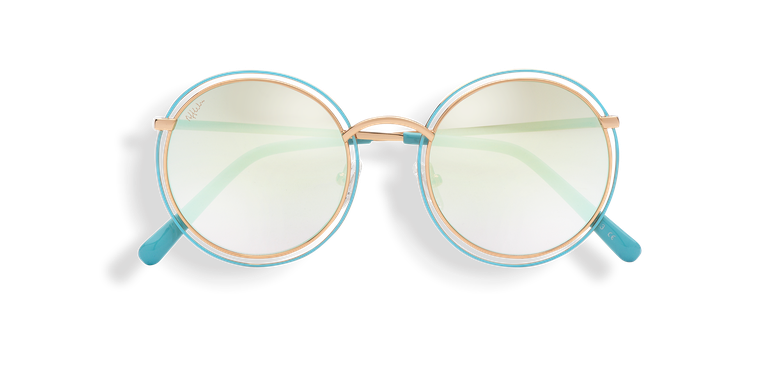 Óculos de sol senhora SALSA (Tchin-Tchin +1€) dourado/azul