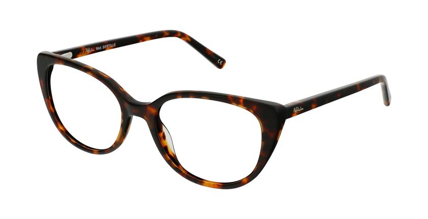 Óculos graduados senhora BERTILLE TO (TCHIN-TCHIN +1€) tartaruga - vue de 3/4