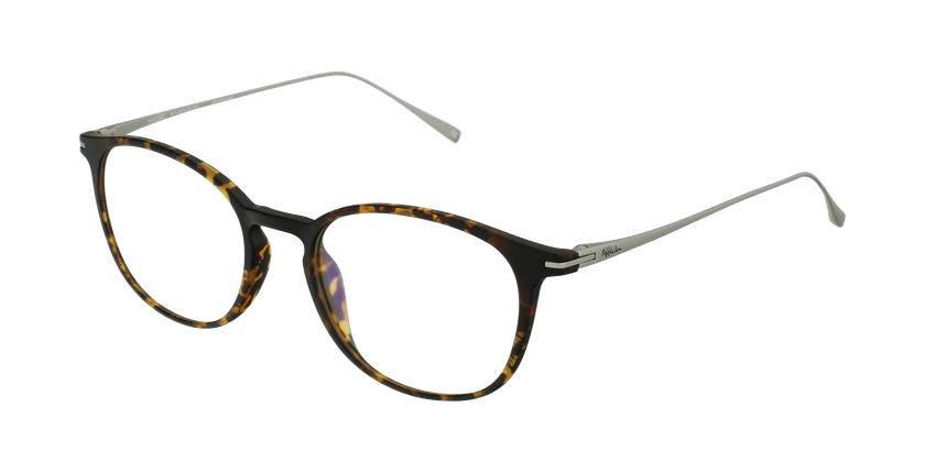 Óculos graduados MAGIC 66 TO tartaruga /prateado - vue de 3/4