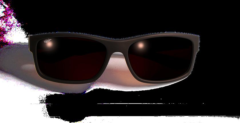 Gafas de sol hombre IMOLA POLARIZED marrón - vista de frente