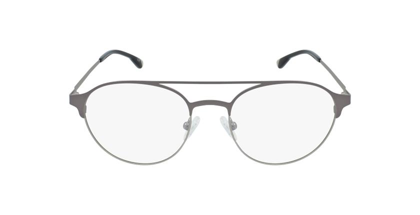 Óculos graduados homem MAGIC 52 BLUEBLOCK - BLOQUEIO LUZ AZUL cinzento/prateado - Vista de frente