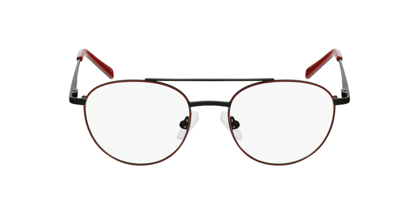 Óculos graduados criança NINO RDBK (TCHIN-TCHIN +1€) vermelho/preto - Vista de frente