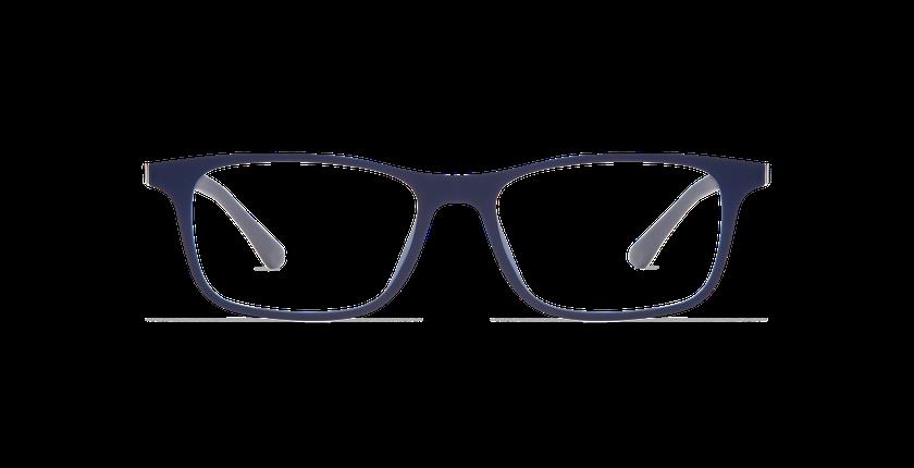 Lunettes de vue homme MAGIC 14 bleu - Vue de face