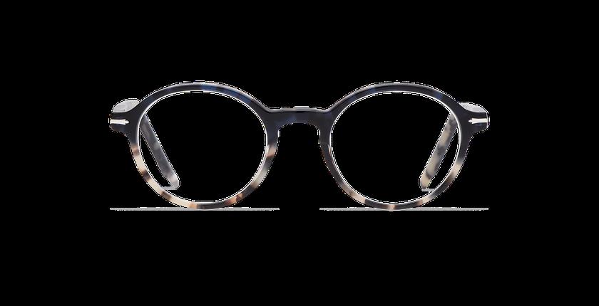 Gafas graduadas hombre MORBIER azul/gris - vista de frente