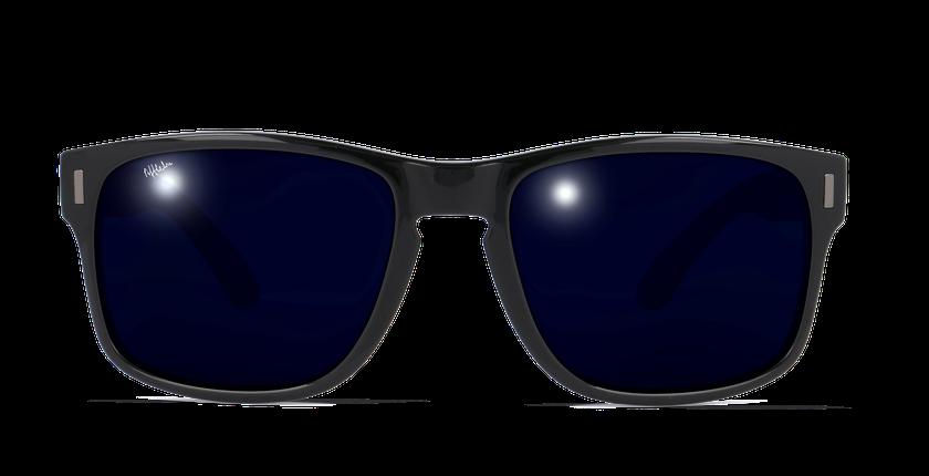 Lunettes de soleil homme DYLAN POLARIZED noir - Vue de face