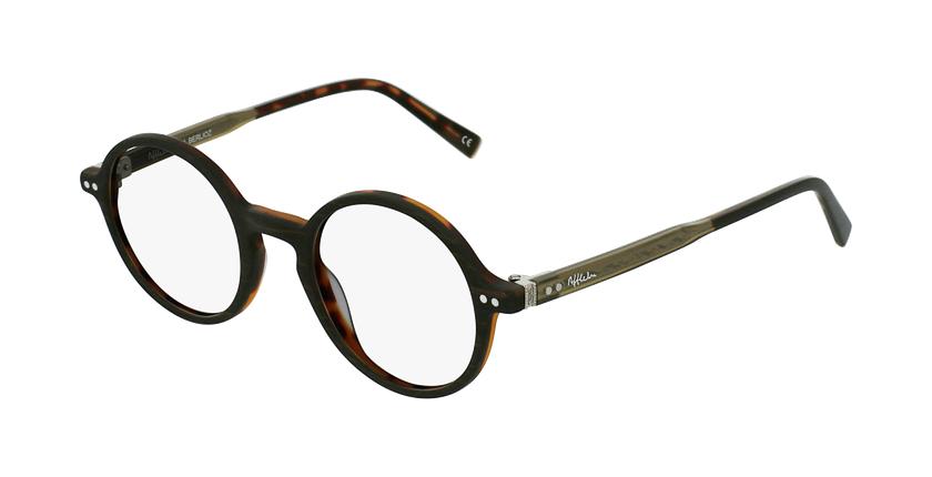 Óculos graduados BERLIOZ BR castanho - vue de 3/4